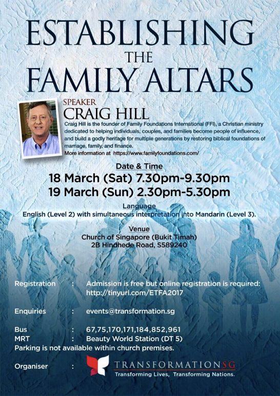 Establishing Family Altars